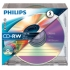 Philips CD-RW 700MB Slim Case BLUE