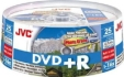 JVC DVD+R Water-Proof Inkjet Print. Glossy c25
