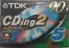 TDK CDing2 90 5Pack Type II