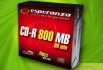 Esperanza CD-R 800MB 90min Slim Case